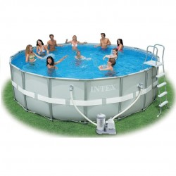 Piscina Intex Ultra Frame 488x122 cm...
