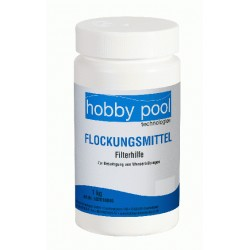 Floculant piscine 1kg Hobby Pool...