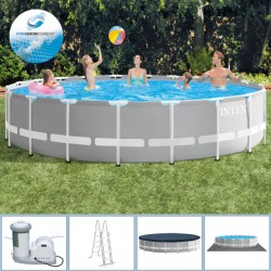 Piscina Intex Prism Frame 610x132cm...