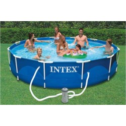 Piscina Intex Metal Frame 366x76cm 28212