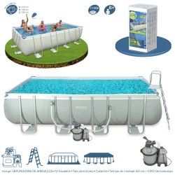 Piscina Intex Ultra Frame 549 x 274 x...